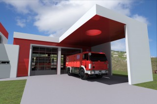 Fire Station Saba